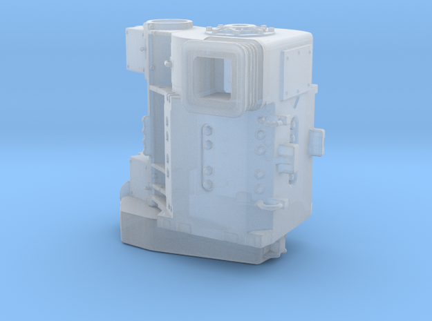 TRACTION MOTOR 1/87 SCALE in Smoothest Fine Detail Plastic