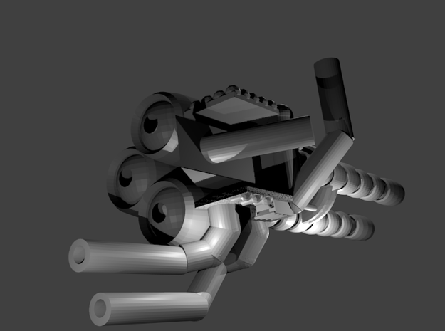"""Wrecker's"" Heavy Artillery Minigun - Regular 3d printed"