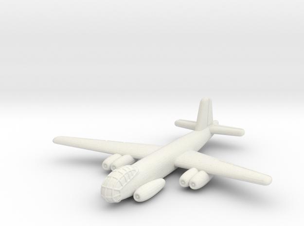 Junkers Ju-287 V1 German Bomber- 1/285 (Qty 1) in White Natural Versatile Plastic
