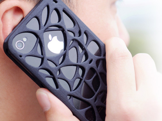 iPhone 4 / 4s case - Cell 2 3d printed