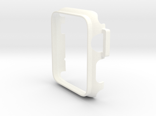 Watch Case 42mm in White Processed Versatile Plastic