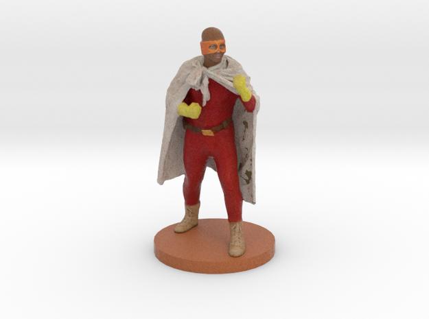 """Darren as """"Blankman"""" - 6"""" Figurine in Full Color Sandstone"""