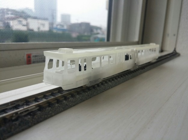 Sneltram Utrecht (1983), N-gauge in Smooth Fine Detail Plastic
