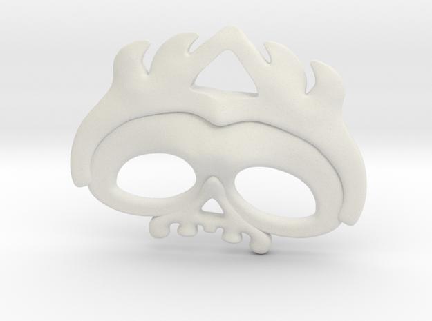 Cavalera02 in White Natural Versatile Plastic