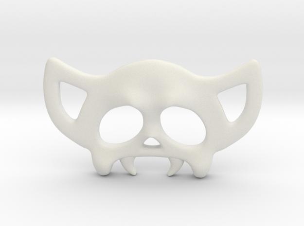 Cavalera04 in White Natural Versatile Plastic