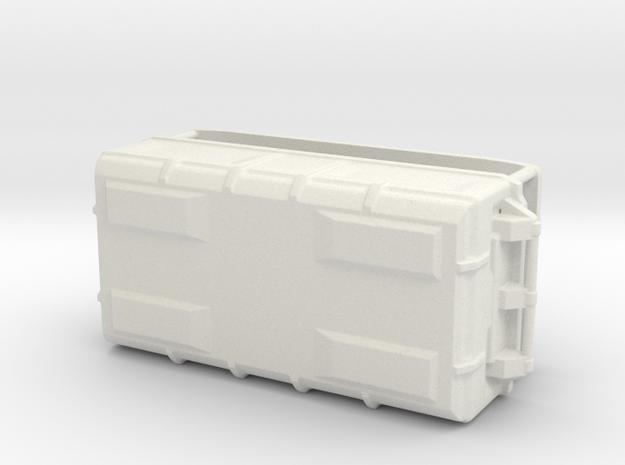 1:20 Cargo box 5 in White Natural Versatile Plastic