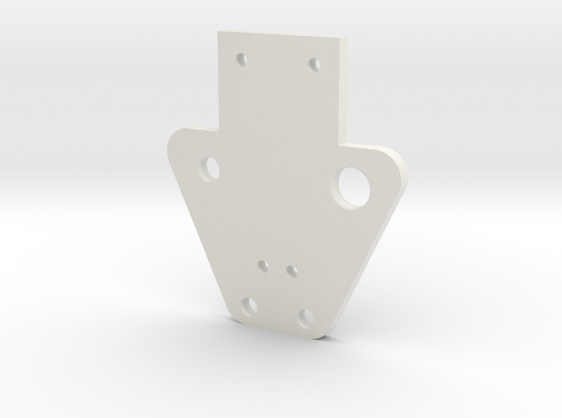 Ag1 Part Top Cover in White Strong & Flexible
