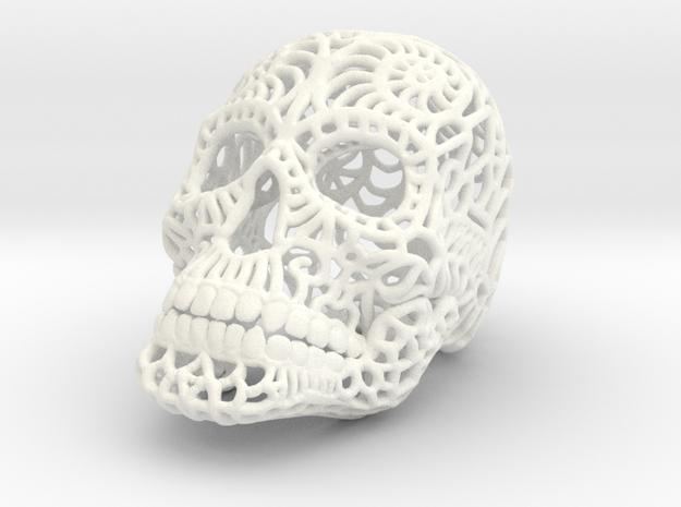 Nautilus Sugar Skull - SMALL 3d printed