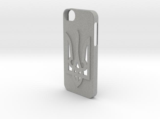 iPhone 5/5S Case  in Metallic Plastic
