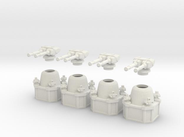 MG144-SV005A Base Turrets (4) 3d printed