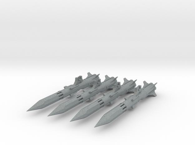 VF-171 Missile 'Anti-Vaj' x4 - BANDAI 3d printed