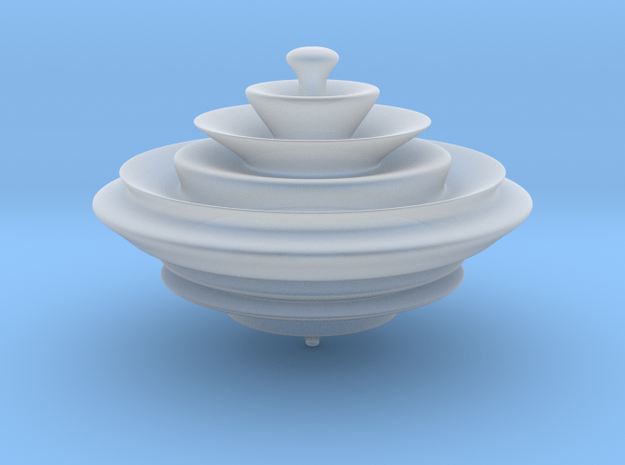 HyperSpinner in Smooth Fine Detail Plastic