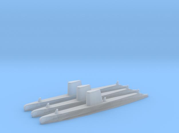 USN Guppy III sub 1/2400 x3