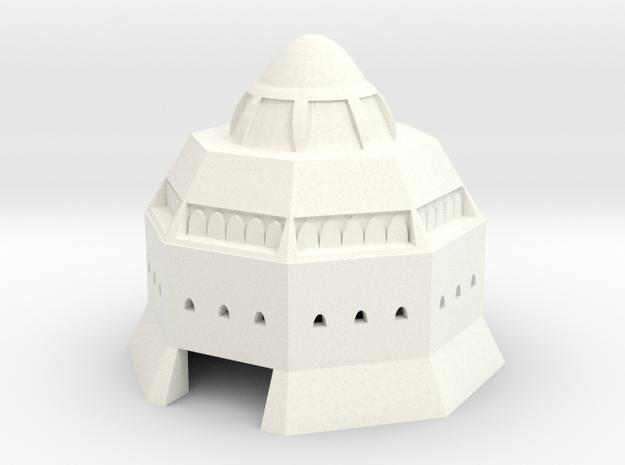 Inari in White Processed Versatile Plastic