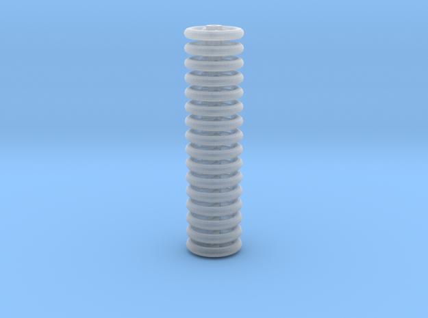 Brake Handwheels (5 curved spoke). in Smooth Fine Detail Plastic