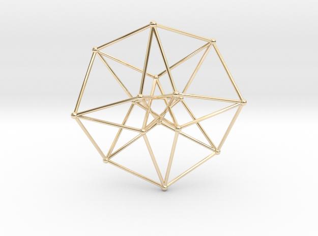 Toroidal Hypercube 50mm 1mm Time Traveller 3d printed
