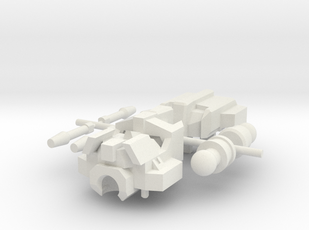 Oppressor Head in White Natural Versatile Plastic