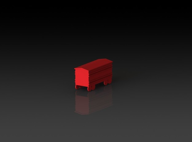 """Steam Boardgame """"Goods"""" Boxcar 3d printed"""