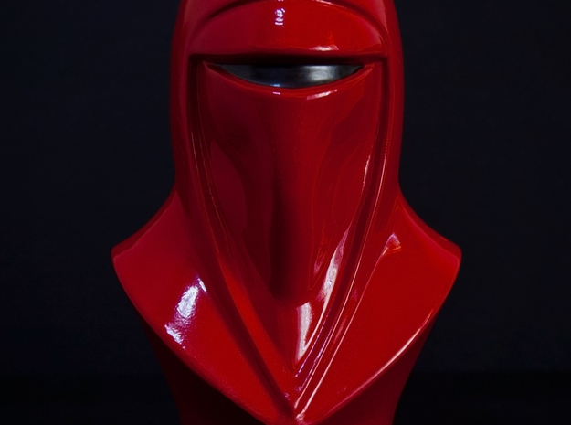 Royal Guard Bust (1:4 Scale) 3d printed Front view of the bust.