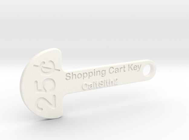 Quarter Shopping Cart Key