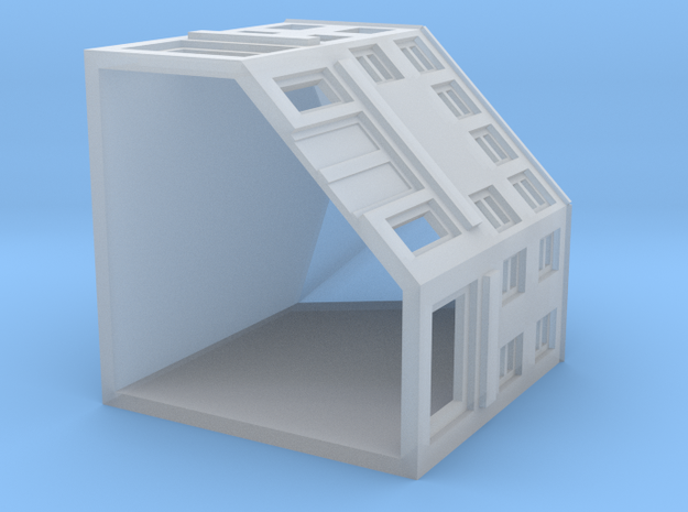 High Street Corner Shop 3d printed