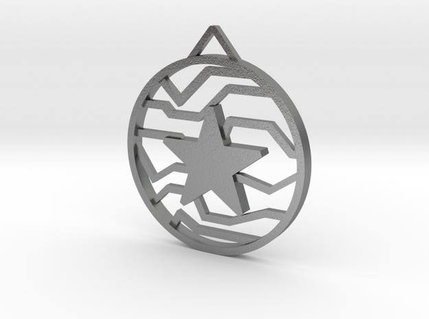 Winter Soldier Star Pendant (Small)