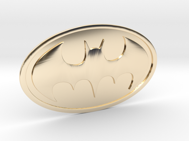 UnBat Symbol in 14K Gold