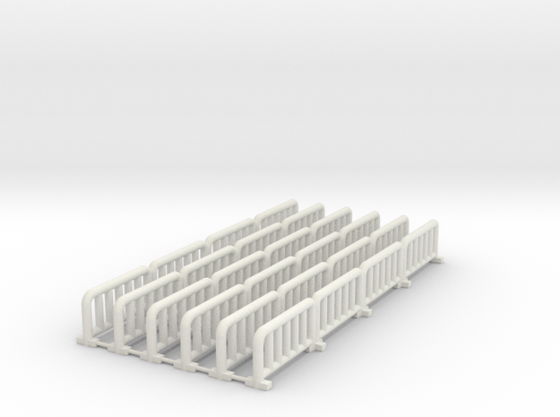Fencefourconnected Fixed in White Natural Versatile Plastic