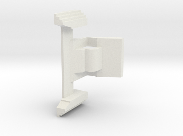 Airsoft MP7 Mag Release Lever in White Strong & Flexible