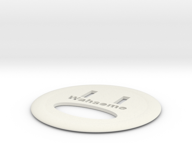 WAHSOME FRISBEE in White Strong & Flexible