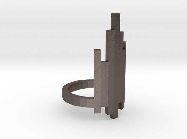Ring Tower (Size 8) in Stainless Steel