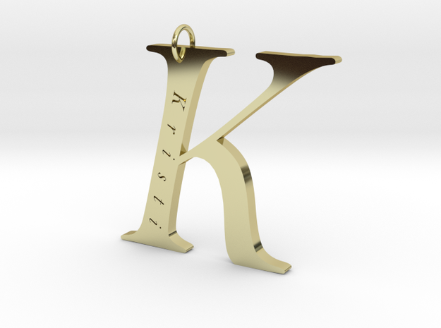 K Gold 18 Personalized in 18k Gold