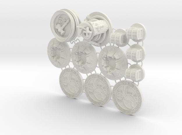 Claustro Tokens (12 pcs)