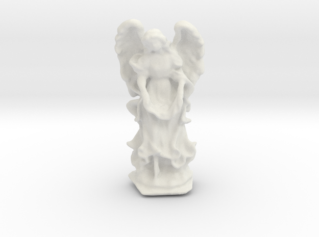 Angel 01 in White Strong & Flexible