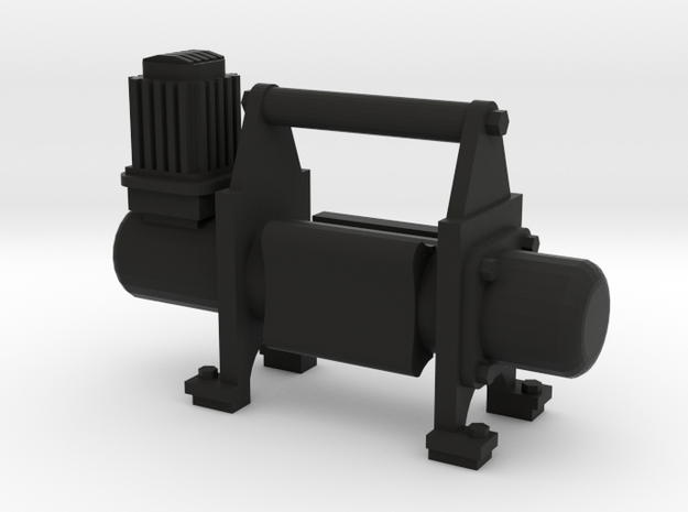 1/10 Scale air compressor / Compresor de aire in Black Natural Versatile Plastic