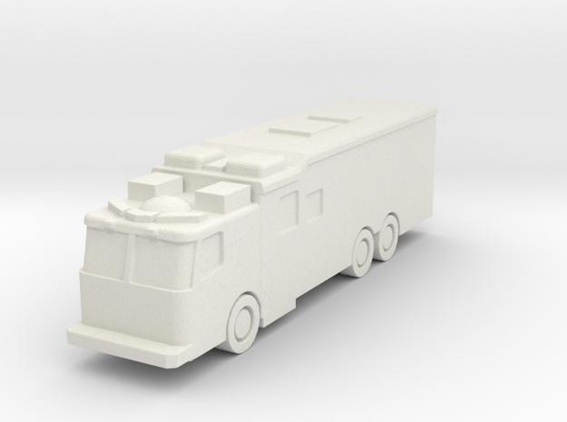 1:285 Ferrara FDNY Custom Hazmat Rig in White Natural Versatile Plastic