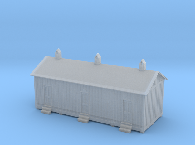 HO Engine Yard Labors House 3d printed