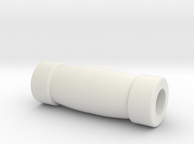 Poignée in White Natural Versatile Plastic