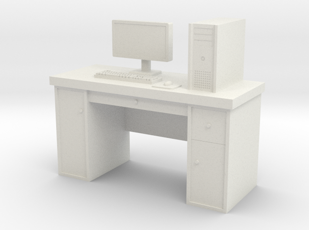 1:35 Scale PC With Desk