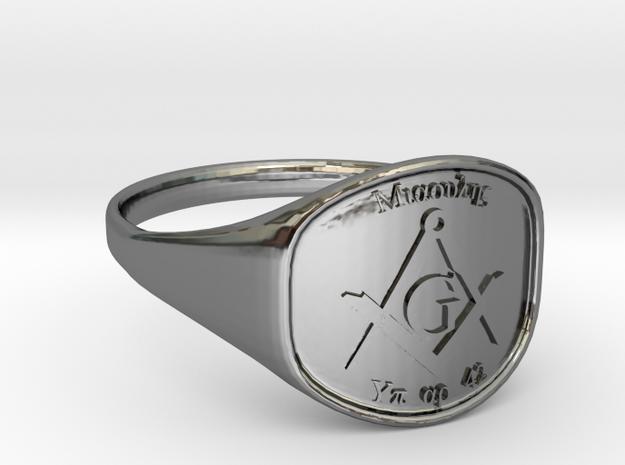 Mason Ring Miaoulis in Premium Silver