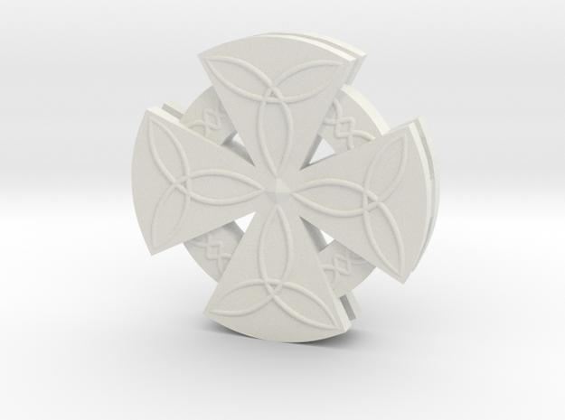 Celtic Cross in White Strong & Flexible