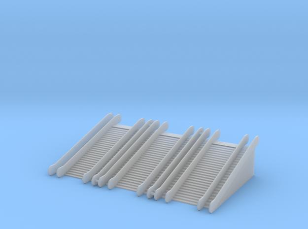 1/220 Rolltreppe doppelt im Set/ z-scale escalator in Smooth Fine Detail Plastic