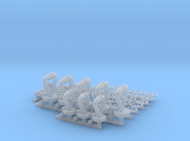 1:48 scale monitor set in Smooth Fine Detail Plastic
