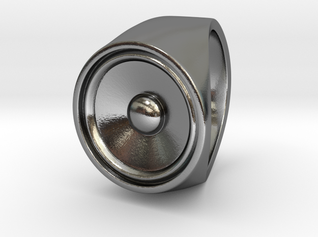 Screaming Sister - US 9 - 19mm - Signet Ring 3d printed