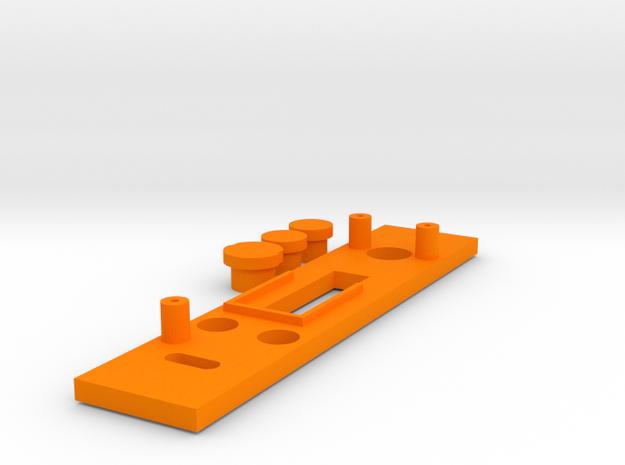 DNA200 Face Plate V7 in Orange Processed Versatile Plastic