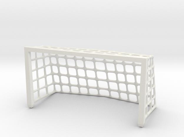 4 inch Tiny Desk Goal in White Natural Versatile Plastic