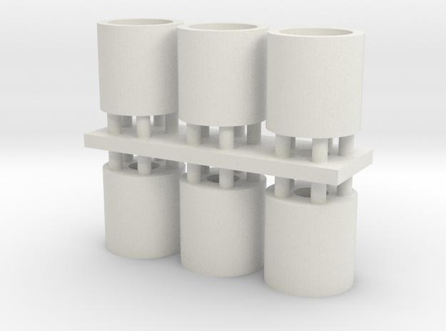14lx16 rim in White Natural Versatile Plastic