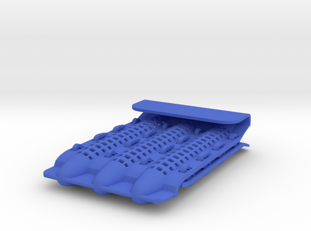 Pocket Protector - Customizable in Blue Processed Versatile Plastic