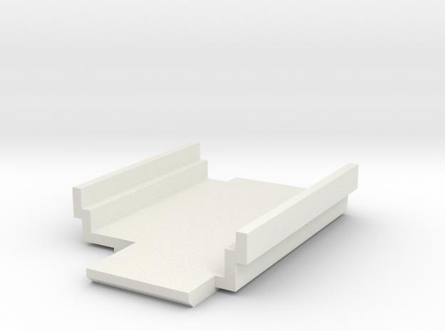 Mion DNA200 Screen Clamp (Pressure Mount) in White Natural Versatile Plastic
