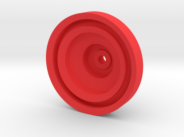 Yo-yo in Red Processed Versatile Plastic